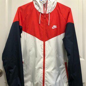 NIKE WINDRUNNER Jacket Rare Colors Red-White-Blue!